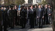 Радев и Каракачанов участваха в церемонията за Деня на военния парашутист