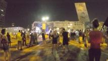 Протестираща пребила клошар в Израел?