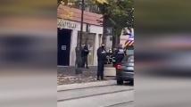 Мъж с нож вилня в Ница