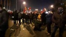 Протест на опозиционната ВМРО-ДПМНЕ в Скопие