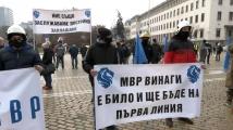 Полицаите на втори национален протест: Подиграха се с нашата чест