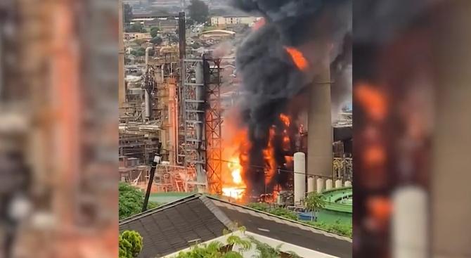 Взрив разтърси рафинерия в южноафриканския град Дърбан