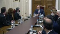 Президентът започна консултации за изборите с партията на Слави Трифонов