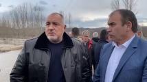 Борисов в Хаджидимово: Мостът ще бъде възстановен до събота