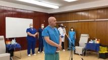 Ген. Мутафчийски след ваксинацията: Не сме имали странични реакции сред персонала