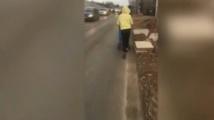 Липса на тротоари създава риск за пешеходците в Горубляне