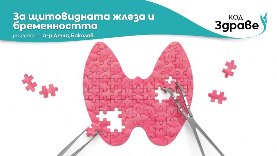 """""""Код здраве"""": За щитовидната жлеза и бременността"""