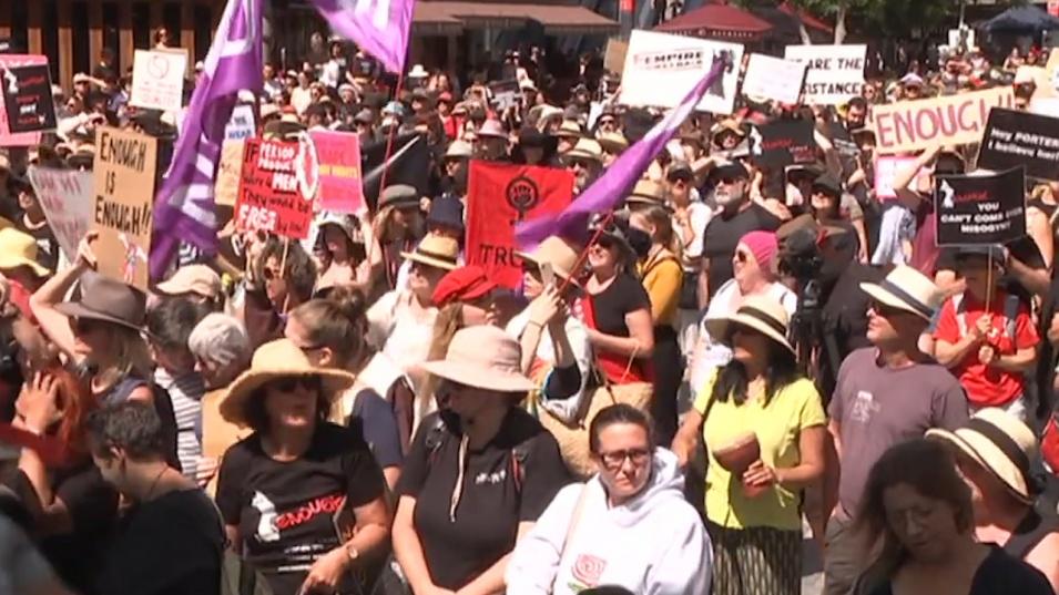 В Австралия протестираха срещу сексуалното насилие