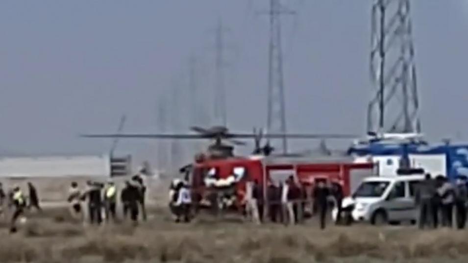 Самолет падна в Турция