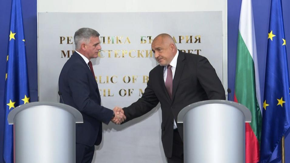 Борисов и министрите предадоха властта