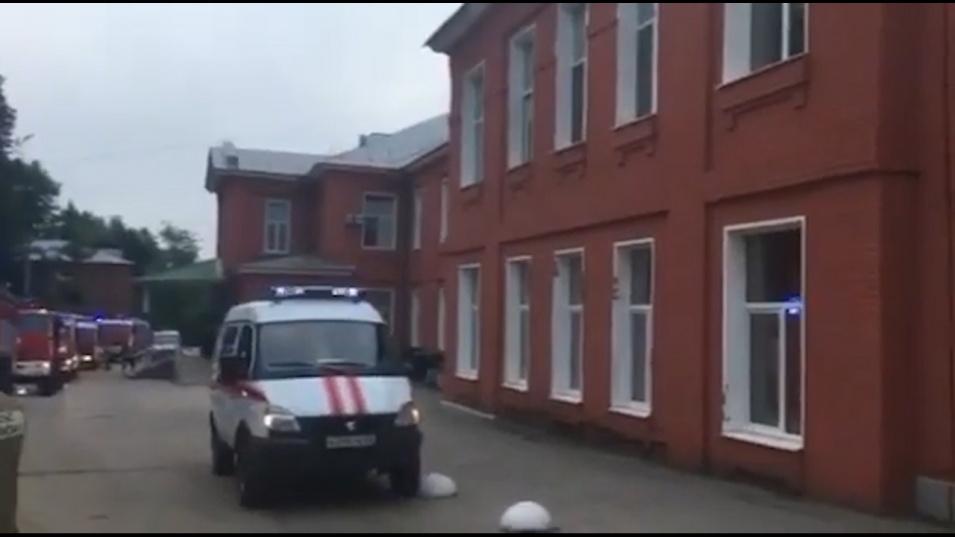 Пожарът в руския град Рязан е тръгнал от апарат за изкуствена вентилация