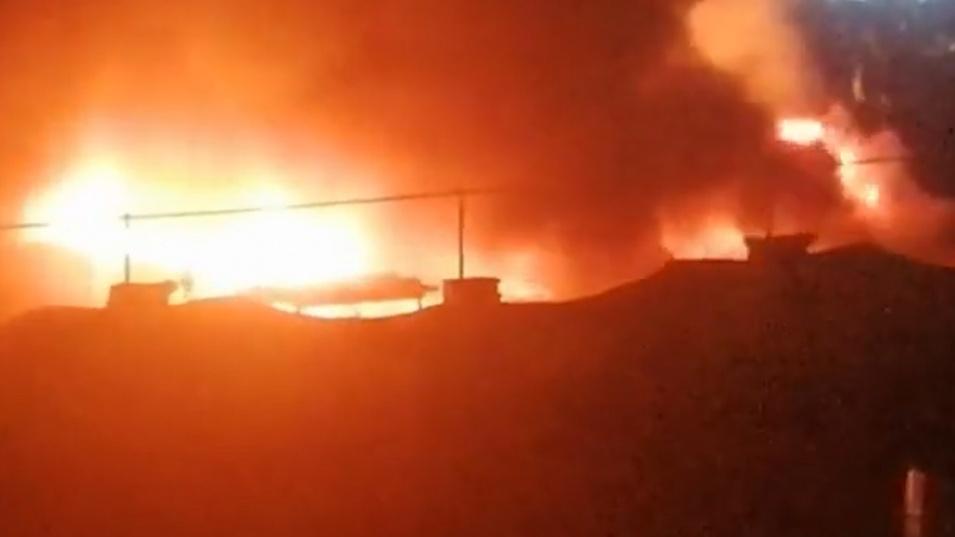50 жертви на пожар в иракска болница