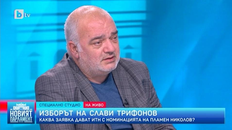 Бабикян харесва Пламен Николов, но не иска да научава кандидатурите от телевизията