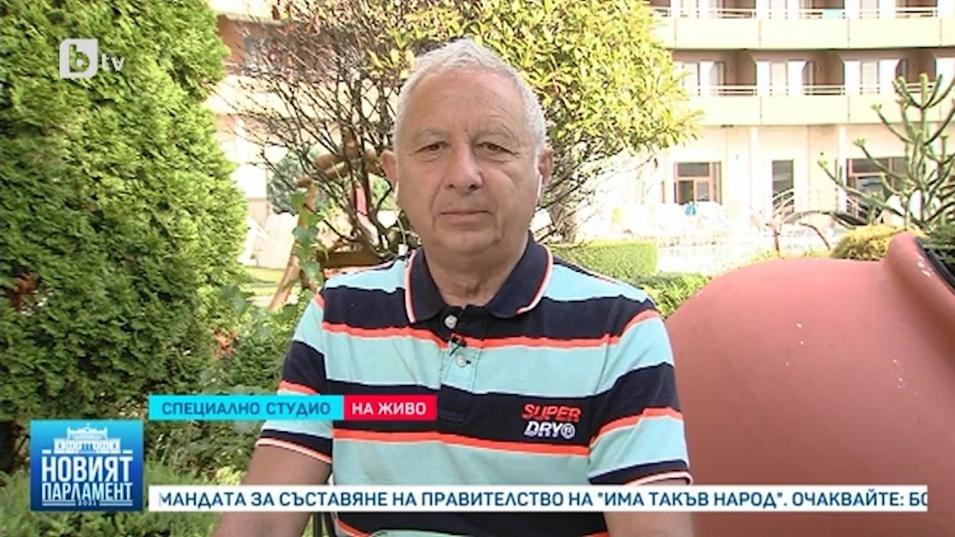Проф. Герджиков очаква кабинет, който да изкара поне година