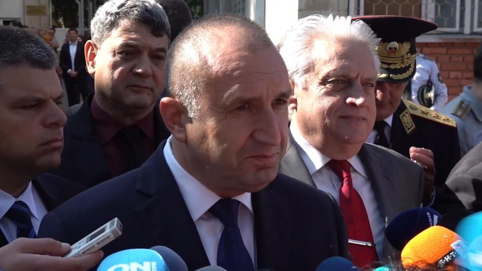 Румен Радев: Важно е промяната да продължи и със следващия служебен кабинет