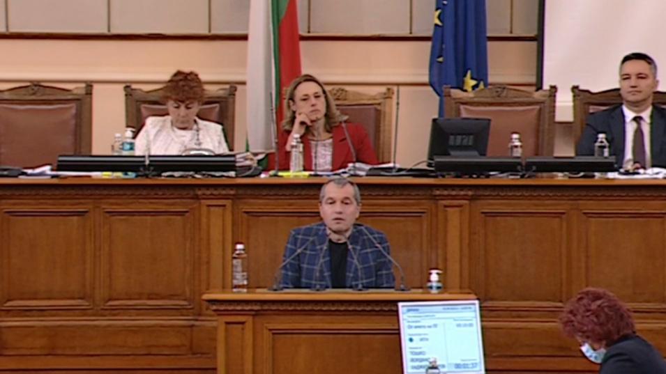 Тошко Йорданов: Христо Иванов носи персонална вина да няма редовен кабинет