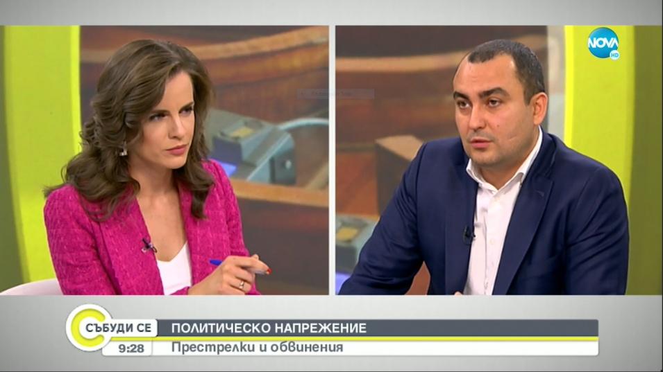 """Иванов разкри, че от ГЕРБ издигат за президент """"обществена фигура с огромен авторитет"""""""